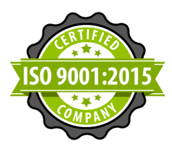 ISO9001:2015 Certified Quality